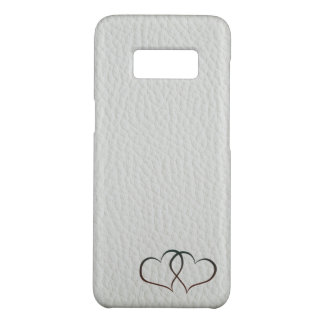 Leather Hearts Case-Mate Samsung Galaxy S8 Case