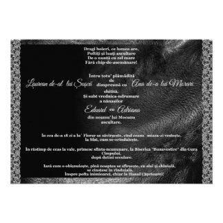 Leather & Lace Offbeat Biker Wedding InvitationREO Custom Invitations