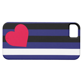 Leather Latex and BDSM Pride Flag Barely There iPhone 5 Case