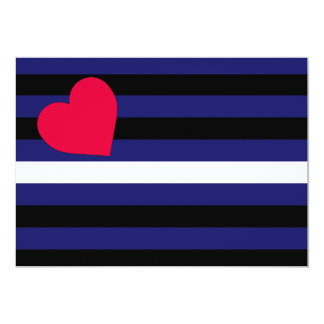 Leather Latex and BDSM Pride Flag Card