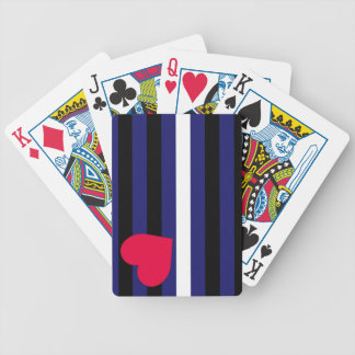 Leather Latex and BDSM Pride Flag Deck Of Cards