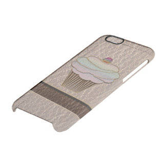 Leather-Look Baking Soft iPhone 6 Plus Case