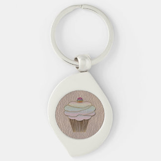 Leather-Look Baking Soft Key Ring