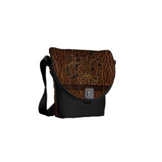Leather-Look Bouquet 2 Messenger Bag