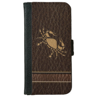 Leather-Look Cancer iPhone 6 Wallet Case