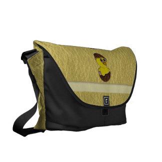 Leather-Look Easter Chicken Messenger Bag