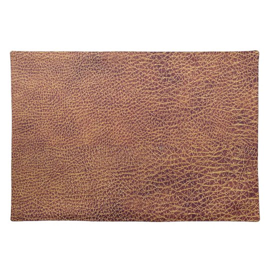 Leather Look for Men or Women Placemat
