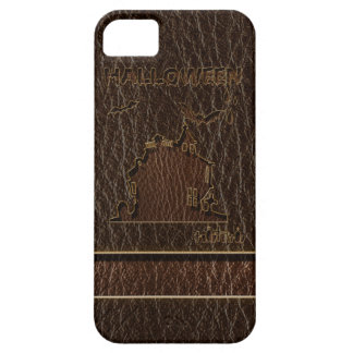 Leather-Look Halloween 1 Barely There iPhone 5 Case