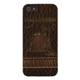 Leather-Look Halloween 1 Case For The iPhone 5