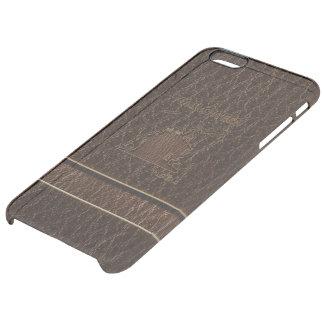 Leather-Look Halloween 1 iPhone 6 Plus Case