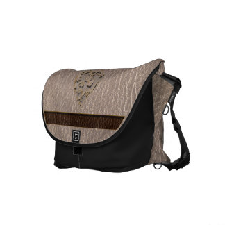 Leather-Look Heart Soft Courier Bags