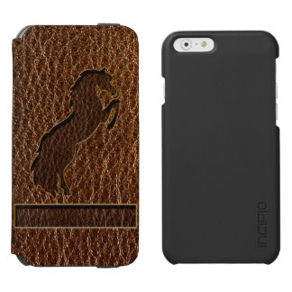 Leather-Look Horse 2 Incipio Watson™ iPhone 6 Wallet Case