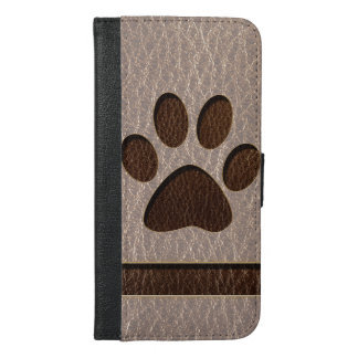 Leather-Look Paw Soft iPhone 6/6s Plus Wallet Case