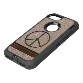 Leather-Look Peace Colour Soft OtterBox Defender iPhone 8/7 Case