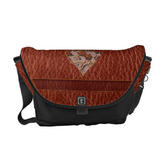 Leather-Look Valentine Soft Commuter Bags