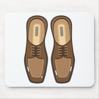 Leather Man's shoes Mouse Pad