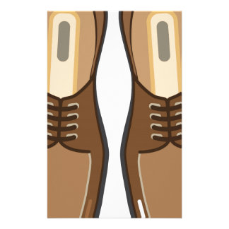 Leather Man's shoes Stationery Paper