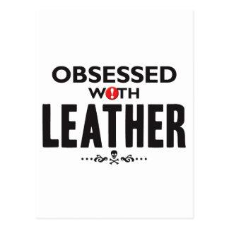 Leather Obsessed Postcard