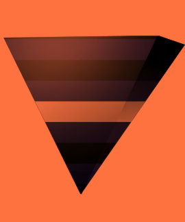 LEATHER PRIDE 3D TRIANGLE T-SHIRTS