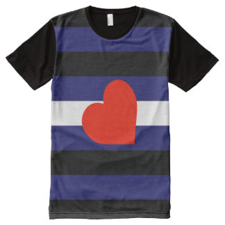Leather Pride All-Over Print T-Shirt