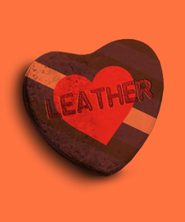 LEATHER PRIDE CANDY TSHIRT