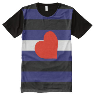Leather Pride Costume All-Over Print T-Shirt
