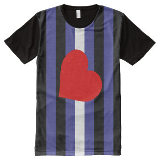 Leather Pride Flag All-Over Print T-Shirt