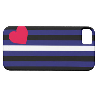 Leather Pride Flag iPhone 5 Case