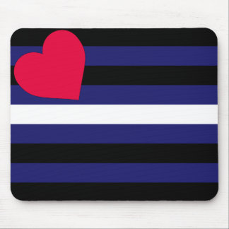 Leather Pride Flag Mousepad