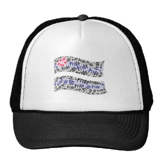 Leather Pride Flag -.png Trucker Hat