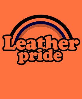 Leather Pride Flag Tee Shirts