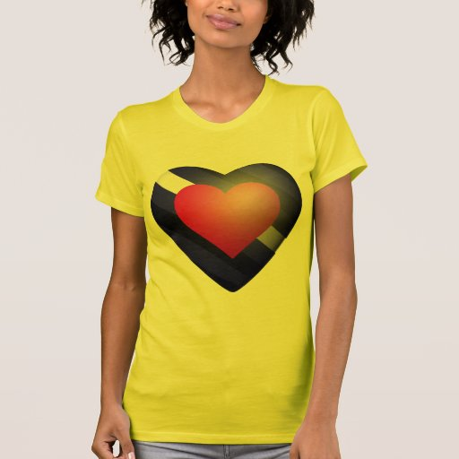 LEATHER PRIDE HEART TEES