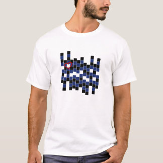 Leather Puzzle Tee
