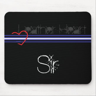 Leather Sir Mouse Mat