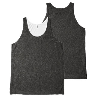 Leather Skin All-Over Print Tank Top