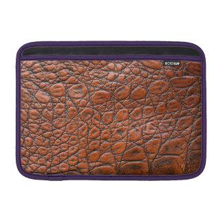Leather Skin MacBook Air Sleeves