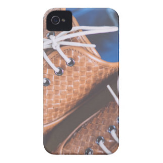 Leather Snakeskin Brown shoes iPhone 4 Case-Mate Cases