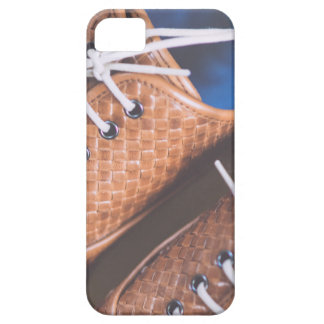 Leather Snakeskin Brown shoes iPhone 5 Cover