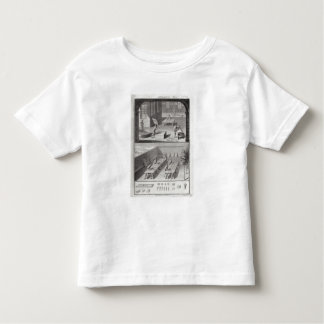 Leather tanning, from the 'Encyclopedia' by Denis Toddler T-Shirt