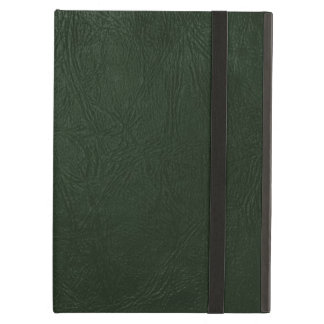 Leather Texture, Leather Background - Green iPad Air Cases