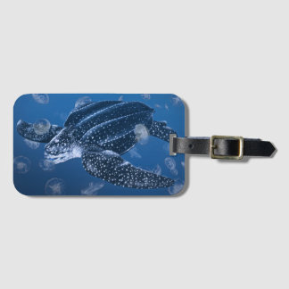 Leatherback Sea Turtle Luggage Tag