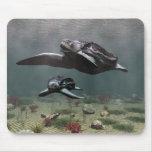 Leatherback turtle mousepad