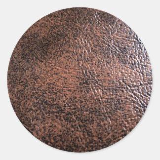 LeatherFaced 1 Round Sticker