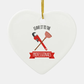 Leave It Christmas Ornament