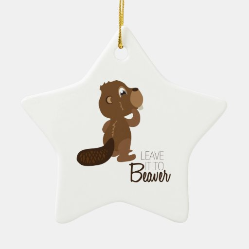 Leave It To Beaver Christmas Ornaments