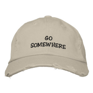 Leave me alone embroidered baseball cap