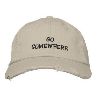 Leave me alone baseball cap