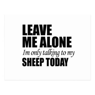 leave me alone post card