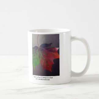 Leave the Past Mug (Right Handed)