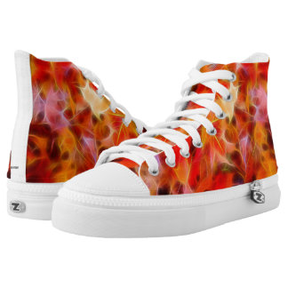 Leave them Electrified Shoes Printed Shoes